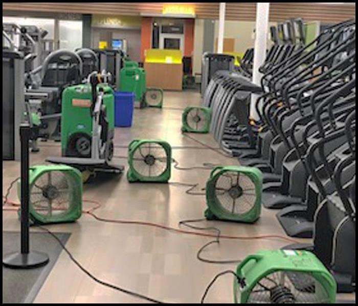 Fitness Center Floods After the Fire Sprinklers Accidentally Discharges Before