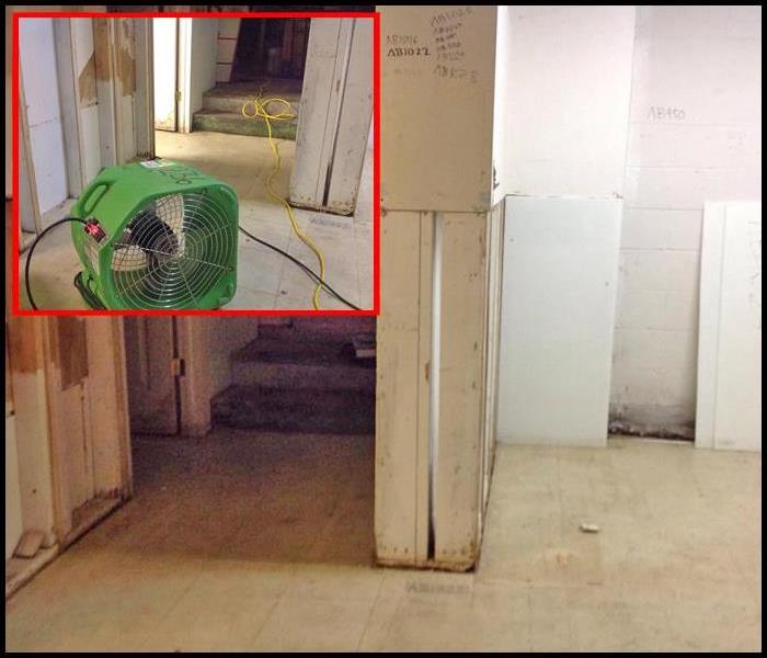 Sump Pump Failure Floods Basement of a Commercial Property After