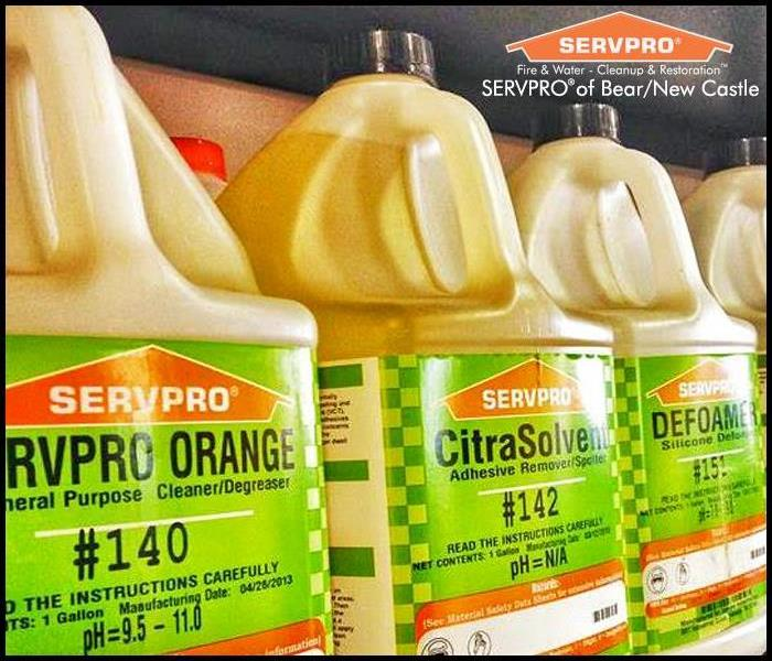 SERVPRO's Professional Cleaning Products