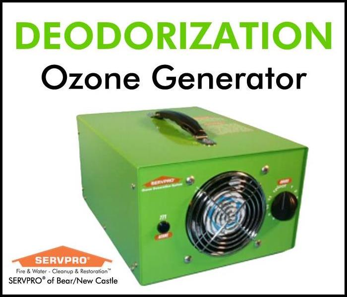 SERVPRO's Advanced Technology and Techniques: Ozone Generator