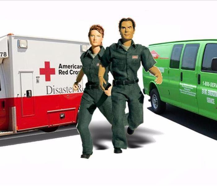 Community AMERICAN RED CROSS & SERVPRO JOIN FORCES