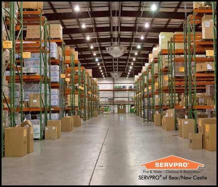 Commercial Stabilizing Your Warehouse After Water Removal