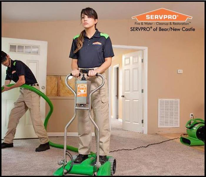 Water Damage Restoration Process for Water Damaged Carpets