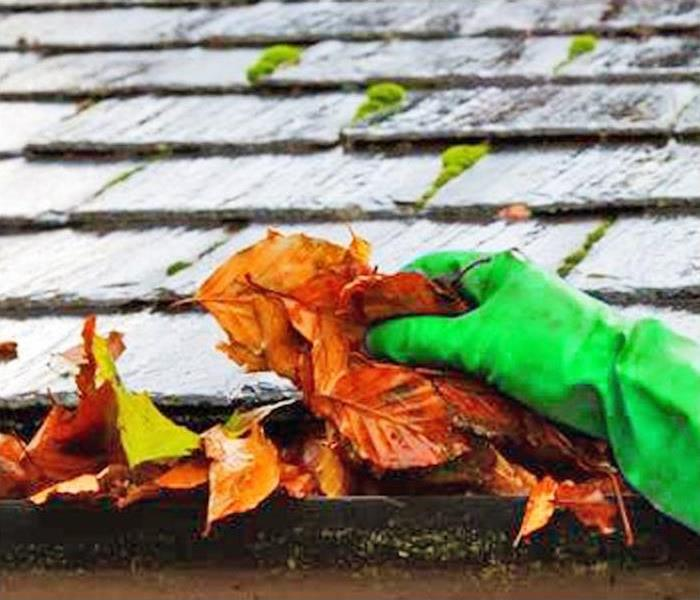 Water Damage You May Have Clogged Gutters If....